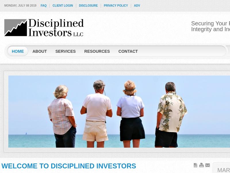 Disciplined Investors, L.L.C.   Financial Advisor serving Waco, Central Texas, and Baylor.