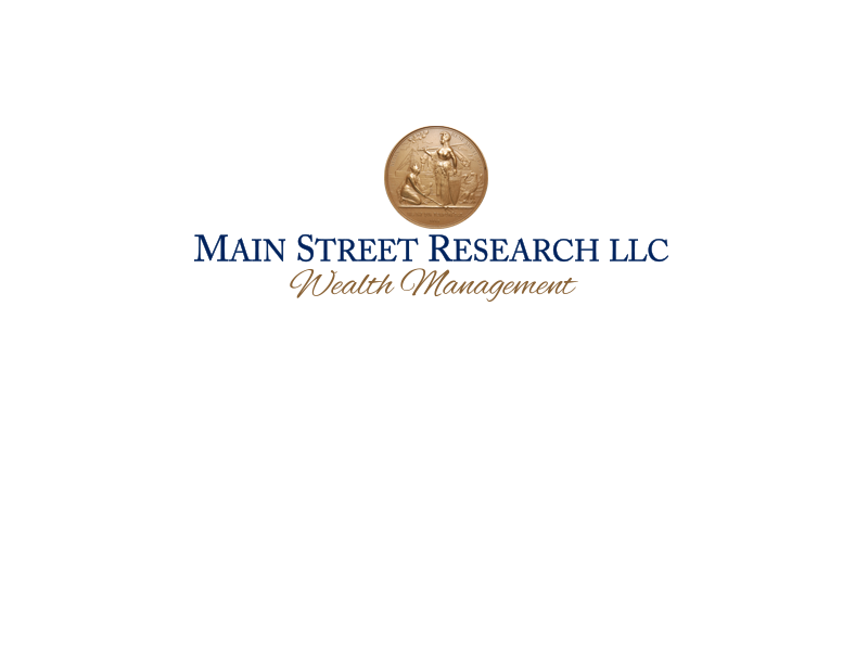 Main Street Research | INVESTMENT ADVISORY SERVICES