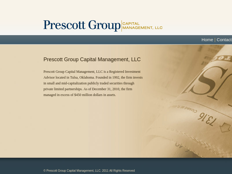 Prescott Group Capital Management, LLC