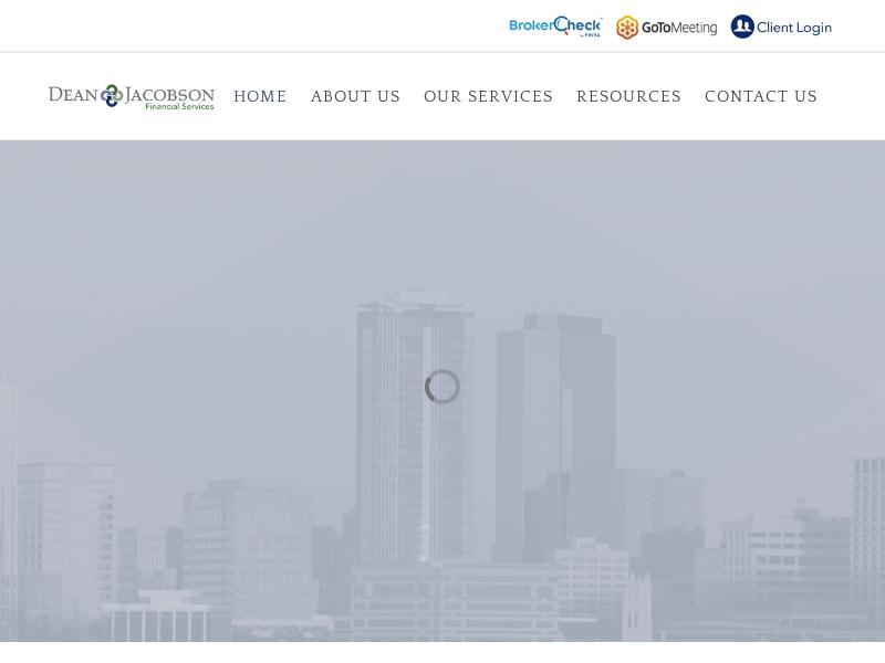 Dean Jacobson – Financial Services