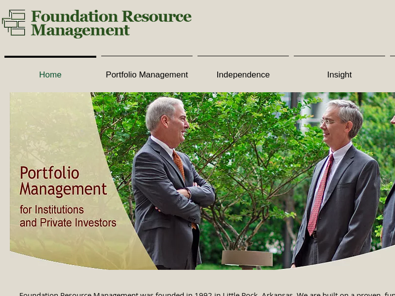 Investment Manager | Little Rock | Foundation Resource Management