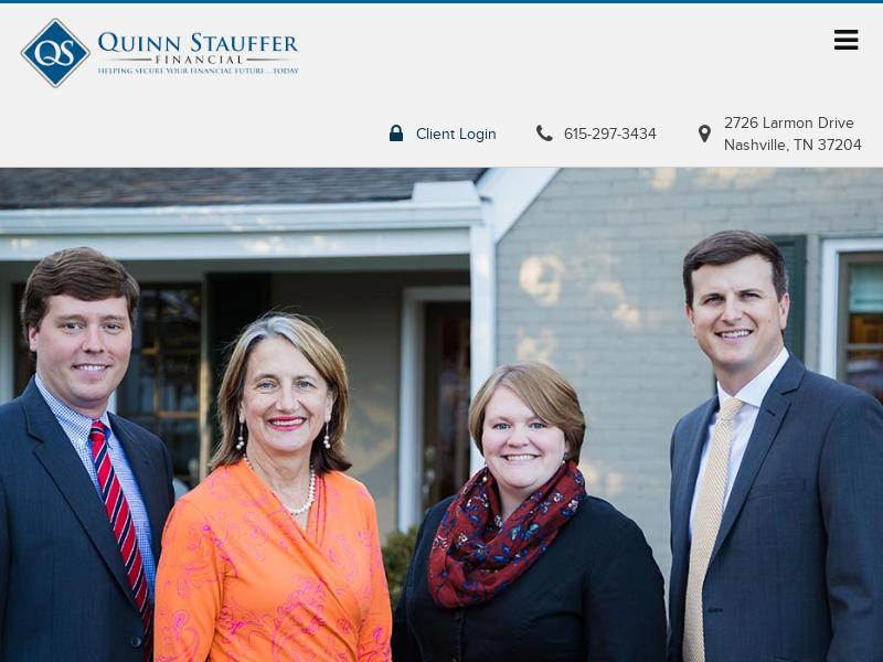 Quinn Stauffer Financial | Nashville, TN Financial Management