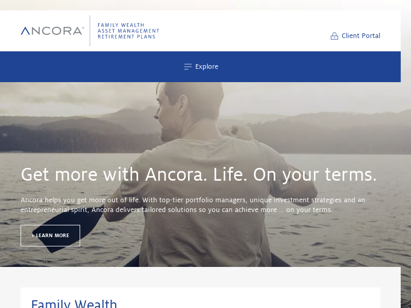Ancora | Leading Family Wealth and Investment Management Firm
