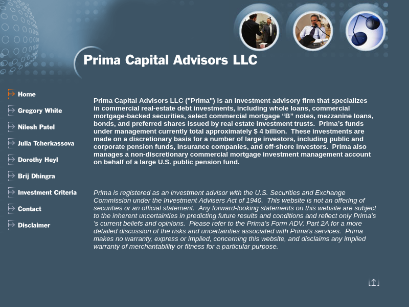 Prima Capital Advisors LLC