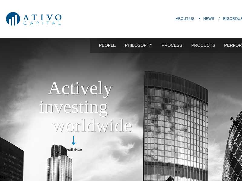 Ativo | Actively Investing Worldwide