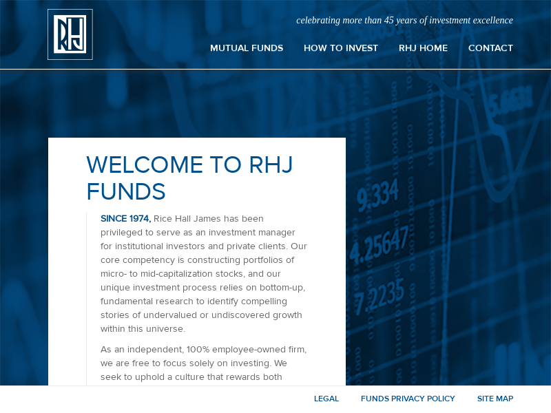 RHJ Mutual Funds