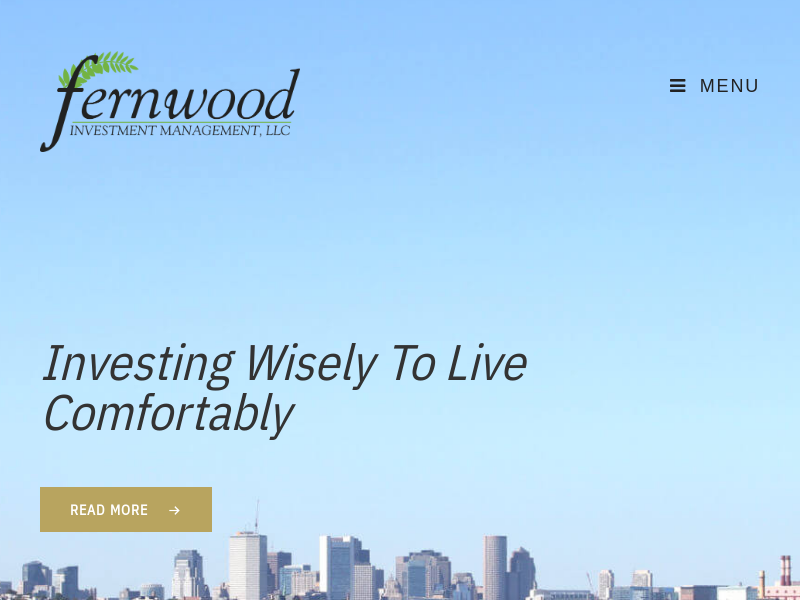 Investing Wisely To Live Comfortably – Fernwood Investment Management