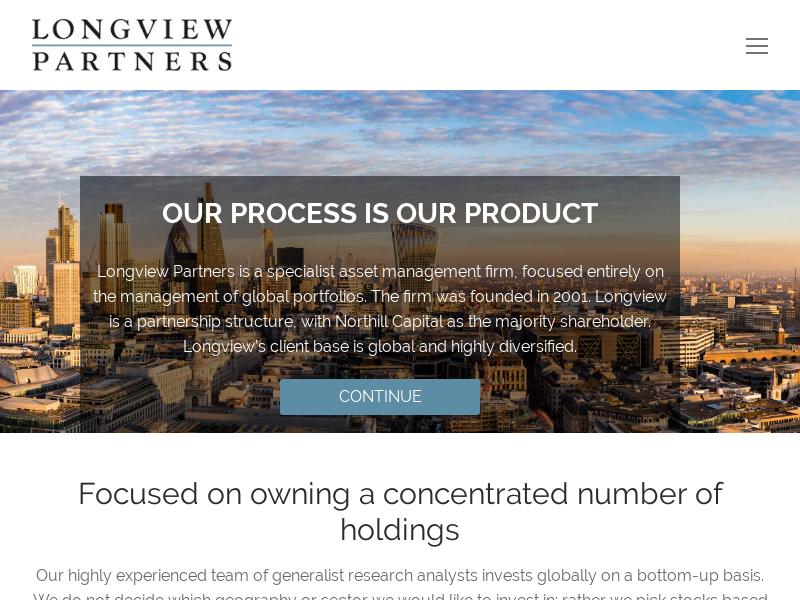 Longview Partners - Longview Asset Management - Global Equities