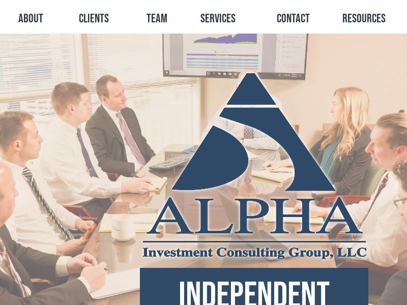 Alpha Investment Consulting Group