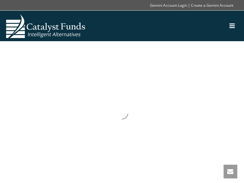 Catalyst Funds - Intelligent Alternatives