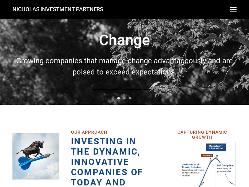 Our Approach Nicholas Investment Partners Investment