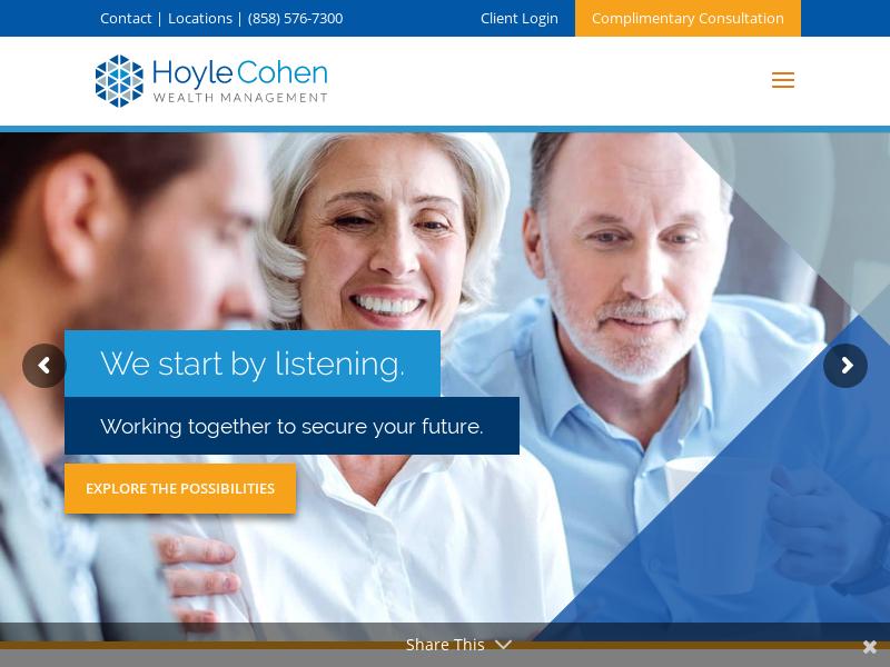 Wealth Management & Financial Advisory Firm | HoyleCohen