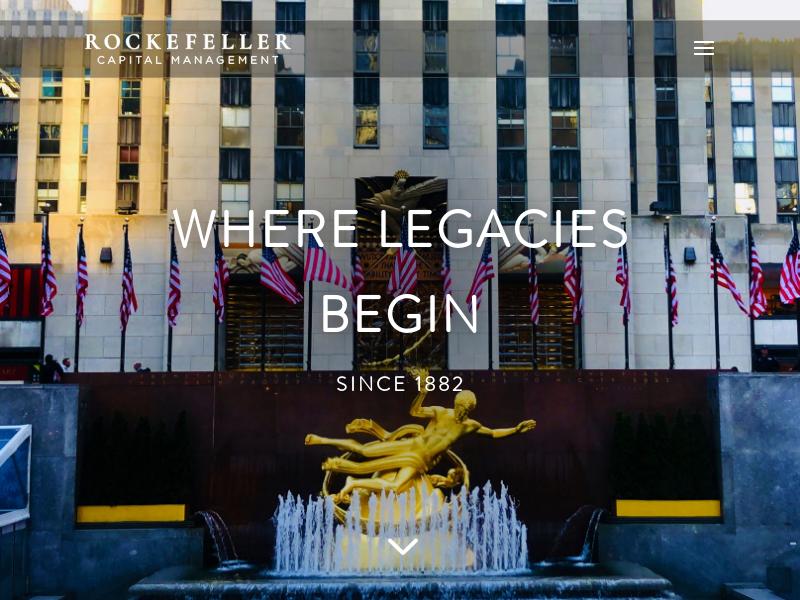 Rockefeller Capital Management - Rockefeller Capital Management