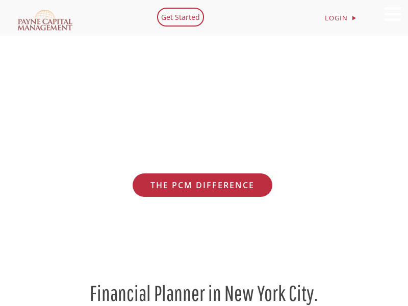 Financial Planner in New York City. Payne Financial Management.