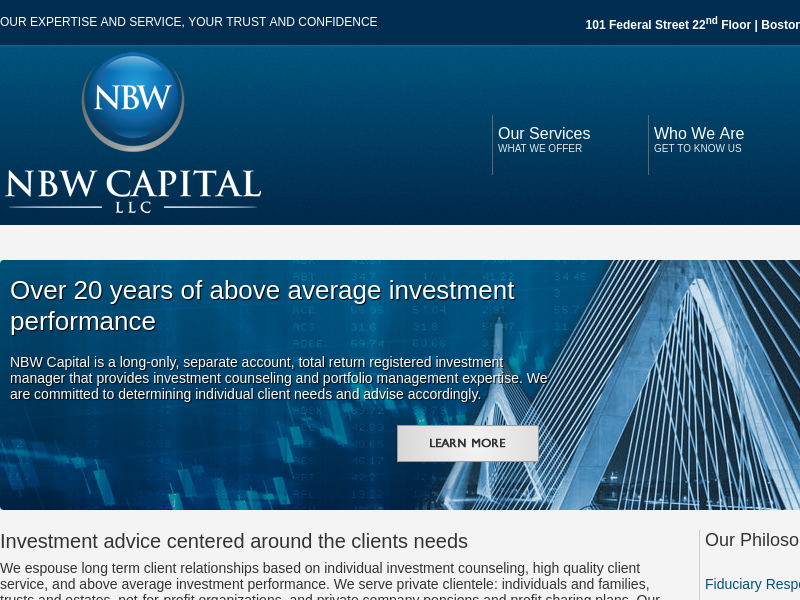 NBW Capital | Investment Counseling and Portfolio Management