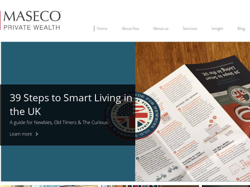 MASECO Private Wealth   US specialists in London
