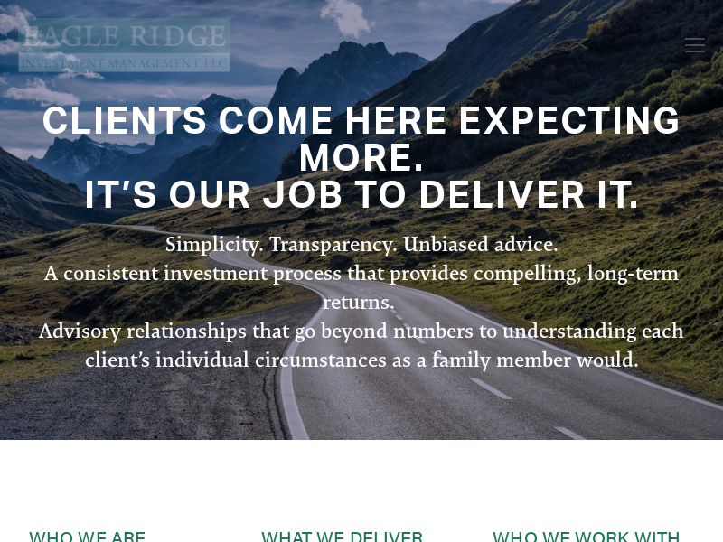 Eagle Ridge Investment Management