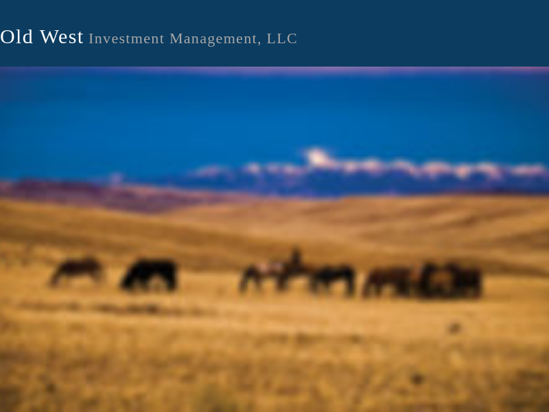 Old West Investment Management, LLC