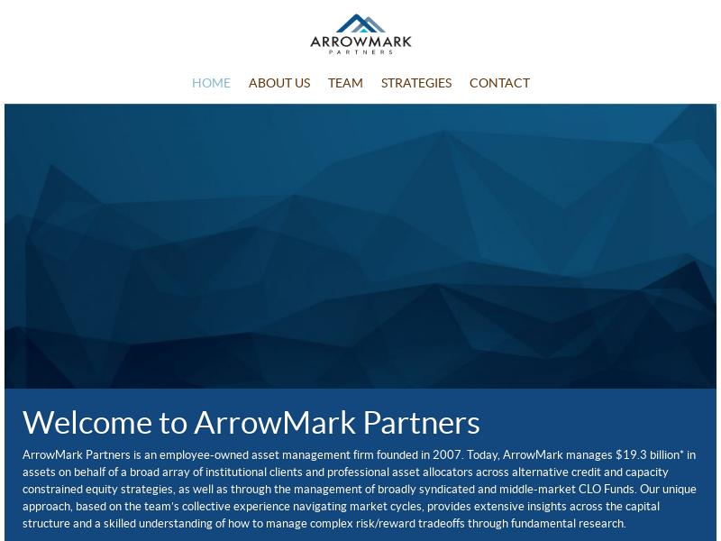 Home | ArrowMark Partners