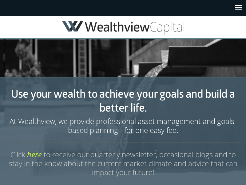 Wealthview Capital: Fee-Only Financial Advisors in Jackson, MS