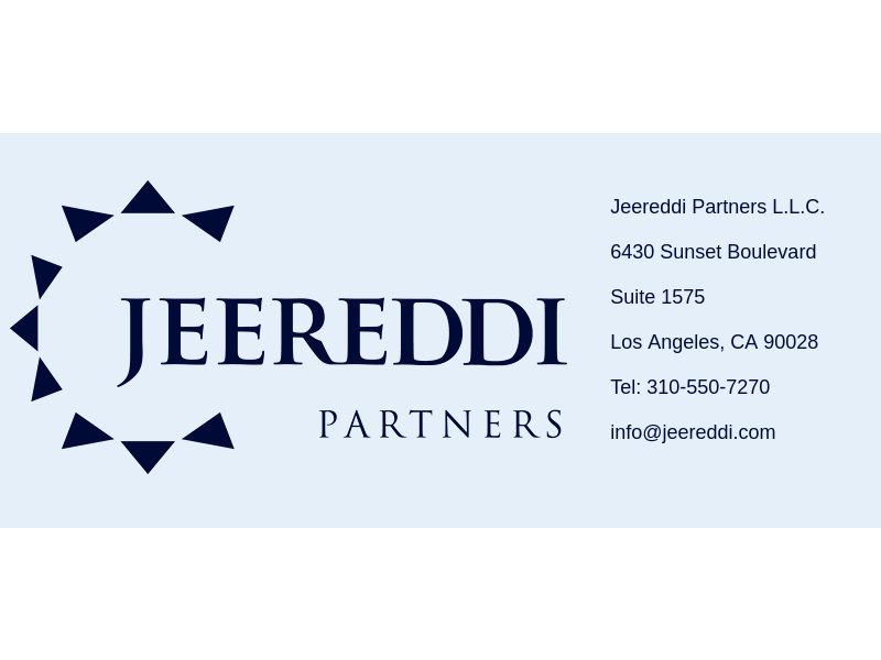 Jeereddi Partners, LLC
