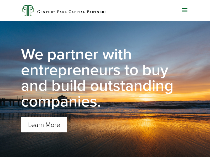 Century Park Capital Partners | Investing with Focus