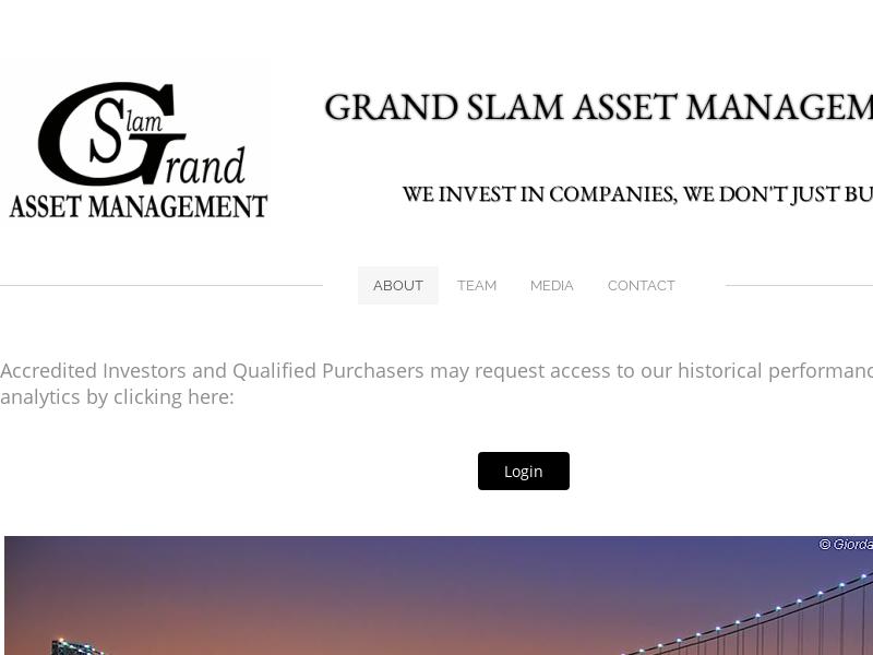 Grand Slam Asset Management - About