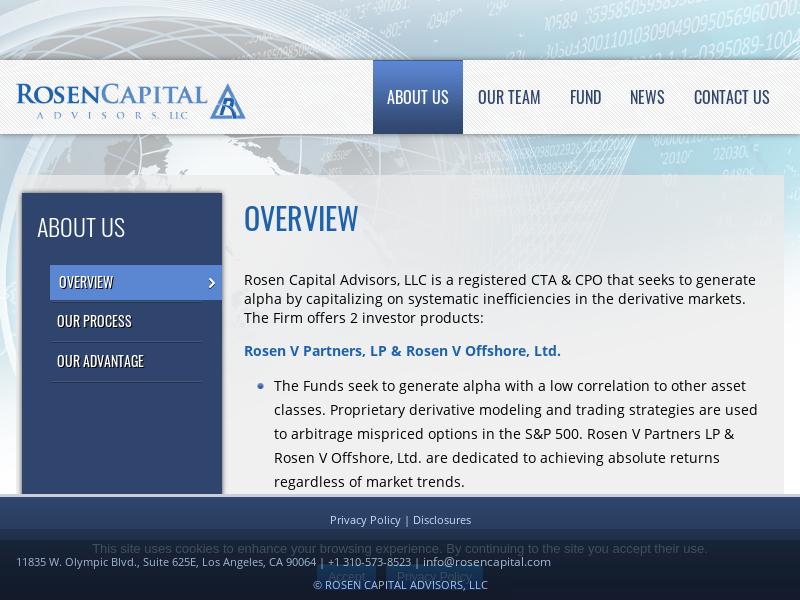 Rosen Capital » Overview
