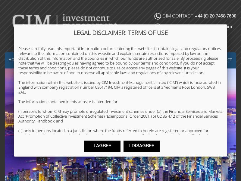 CIM Investment Management Ltd