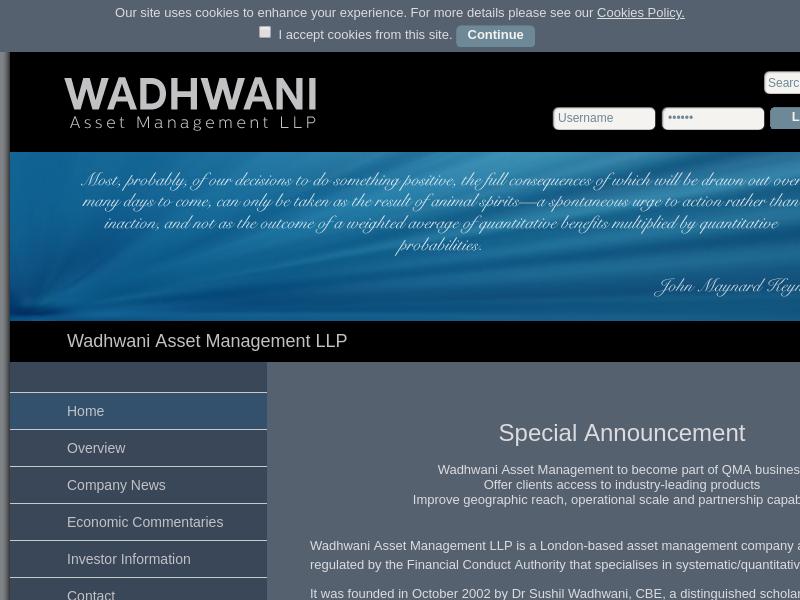 Wadhwani Asset Management LLP