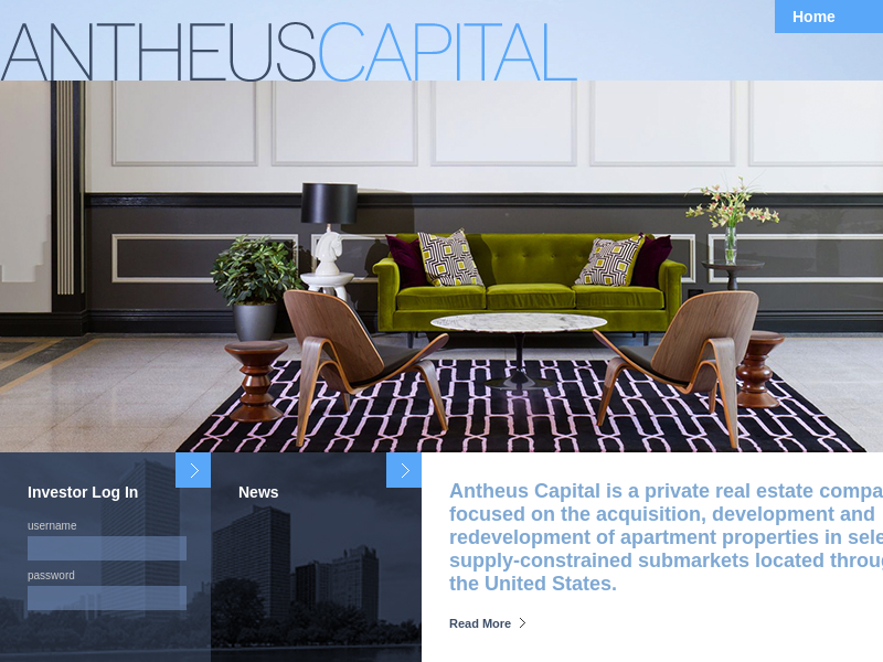 Antheus Capital | Private Real Estate Investment Firm