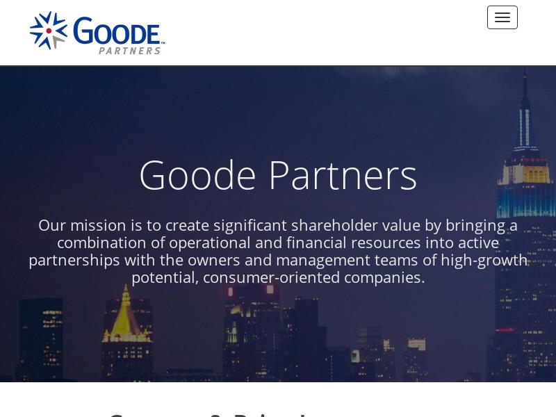 Goode Partners LLC