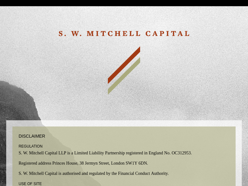 S. W. Mitchell Capital – Home