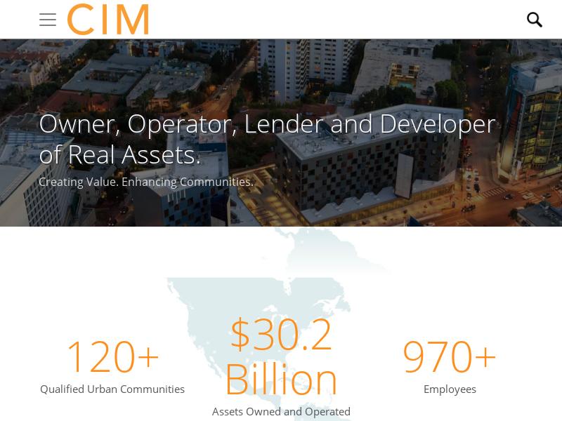 Homepage | CIM Group