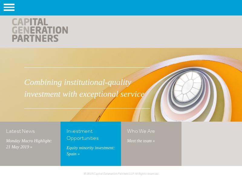 Capital Generation Partners LLP