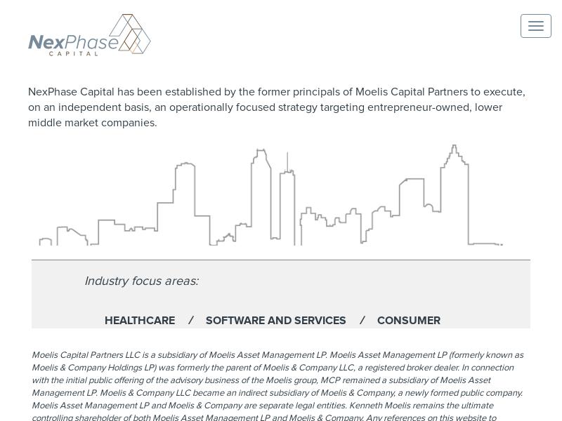 Homepage | NexPhase Capital