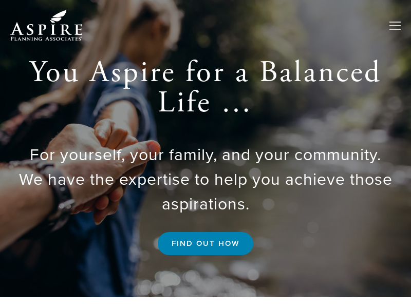 Fee-Only Financial Planning | Aspire Planning Associates
