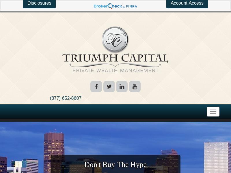 Home | Triumph Capital Management