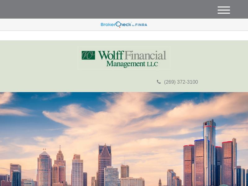 Home   Wolff Financial Management, LLC