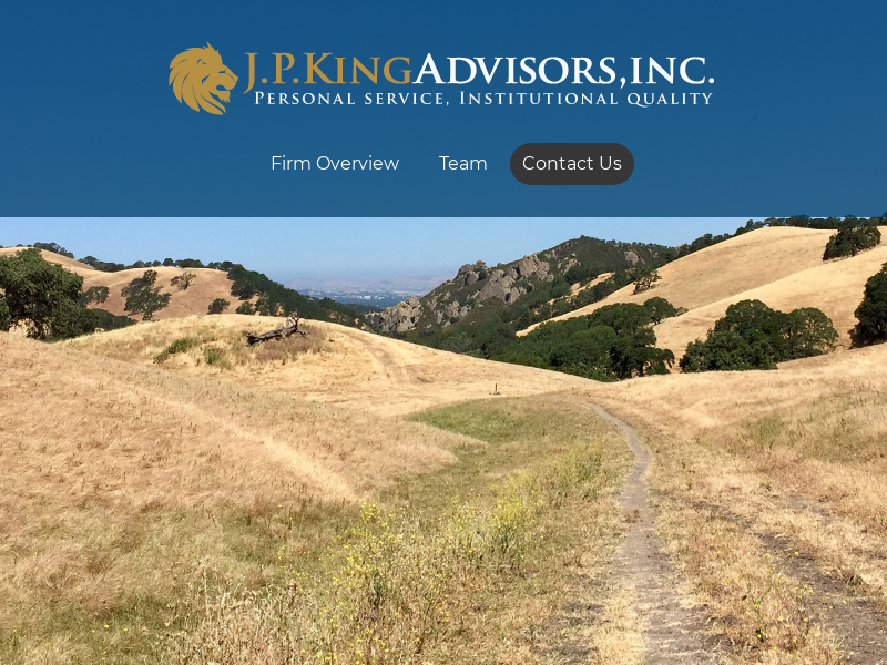 Financial Advisor | Certified Financial Planner (CFP) | J.P. King Advisors