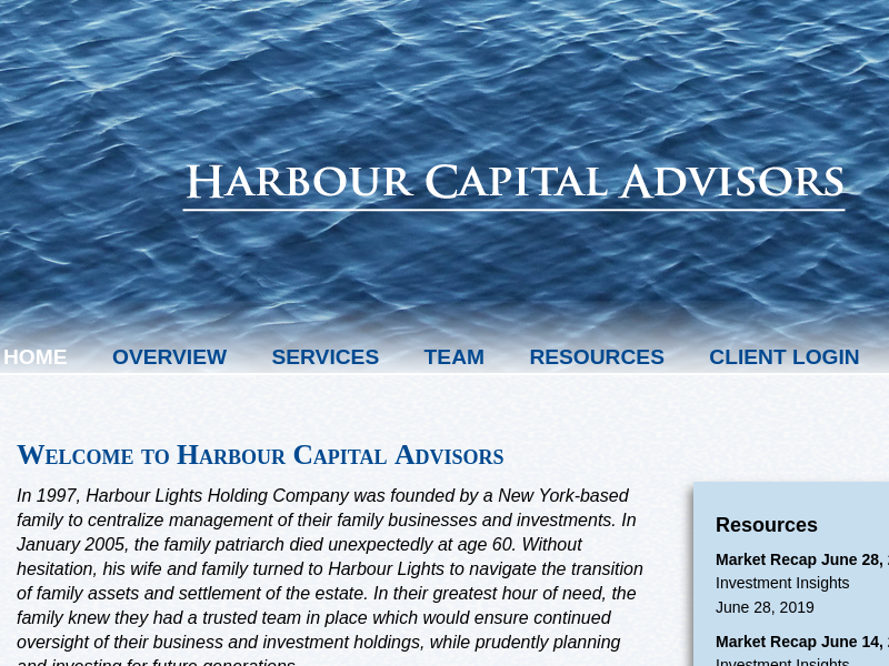 Welcome to Harbour Capital Advisors | Harbour Capital Advisors