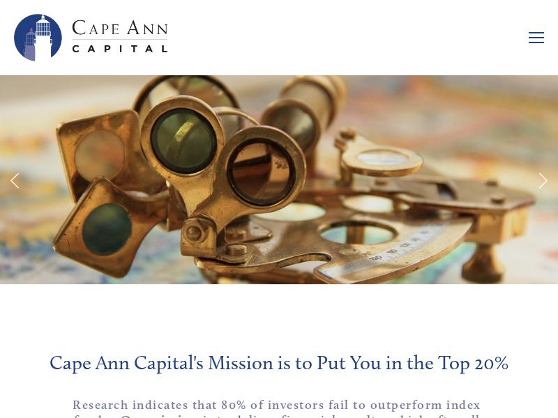 Cape Ann Capital