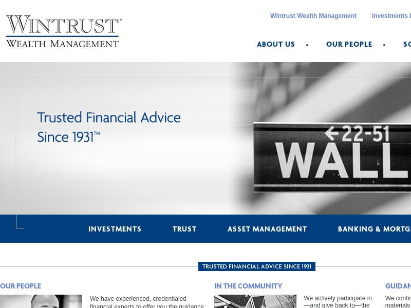 Investments | Wintrust Wealth Management