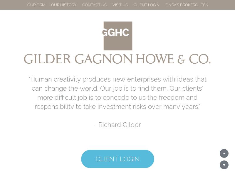 Gilder, Gagnon, Howe & Co., LLC
