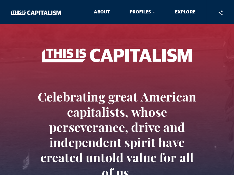This is Capitalism presented by Stephens Inc.
