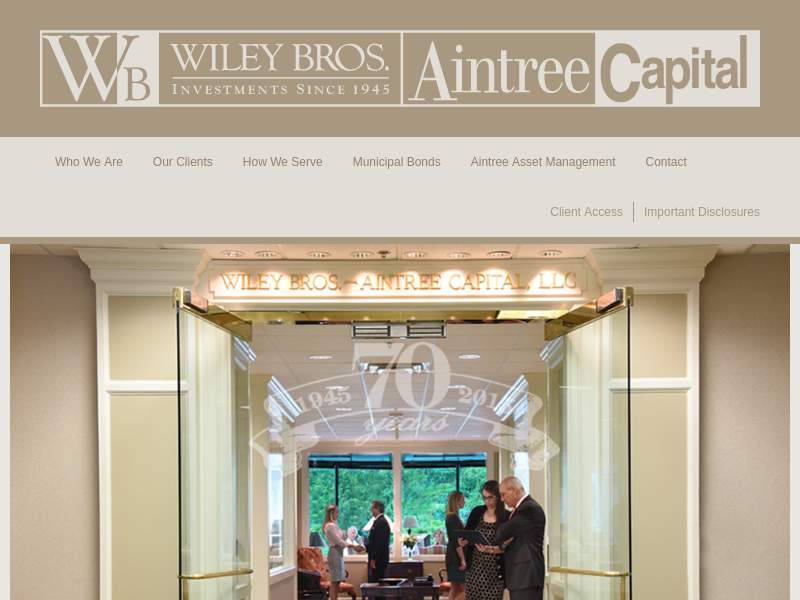 Wiley Bros.–Aintree Capital - Home