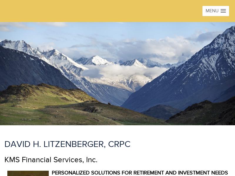 David Litzenberger, KMS Financial Services, Inc