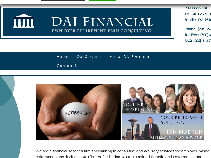 DAI Financial | Retirement Planning & Consulting
