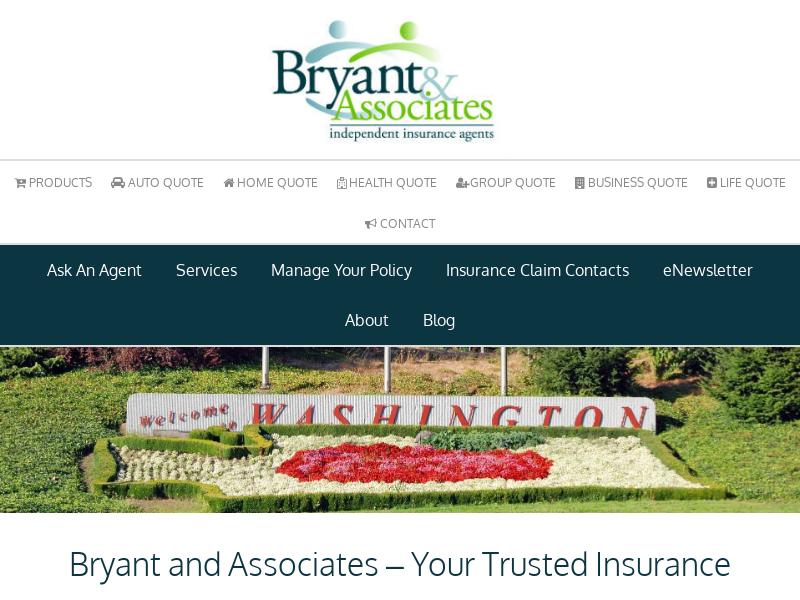Insurance Agents – Vancouver, Longview, White Salmon, Portland, The Dalles   Bryant and Associates
