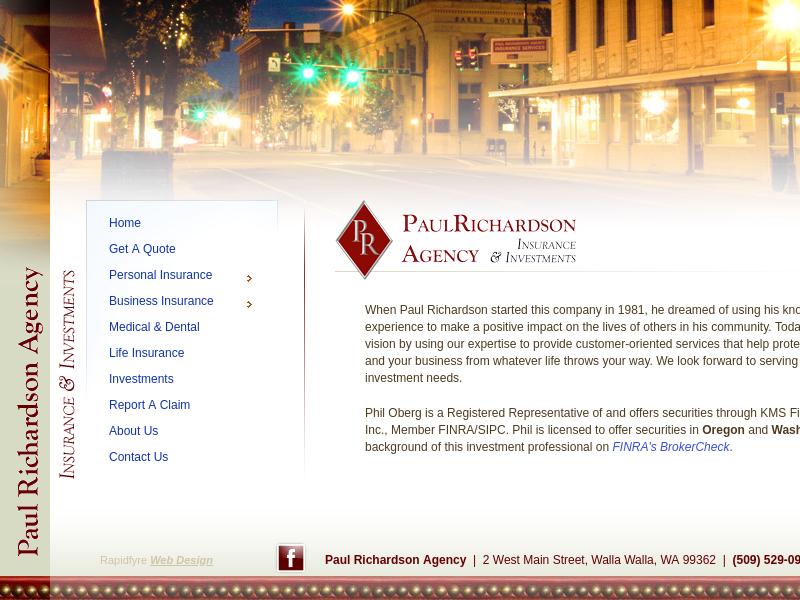 Paul Richardson Agency: Walla Walla's Insurance & Investment Professionals
